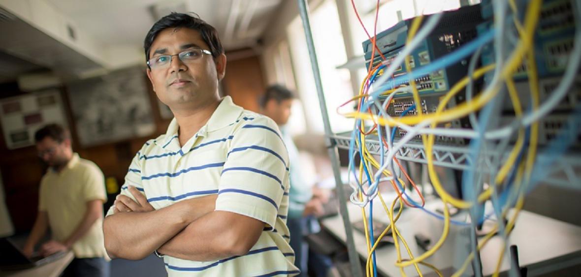Cybersecurity Center Director Shamik Sengupta