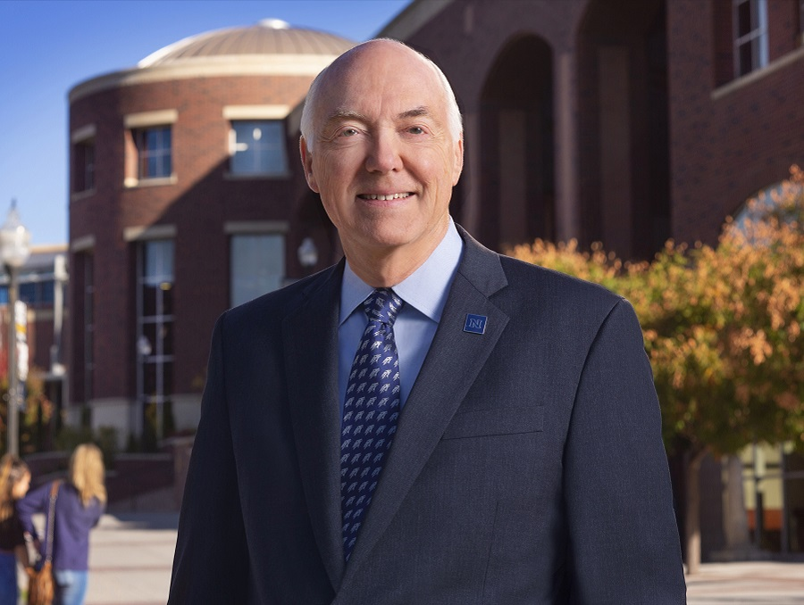 University President Marc Johnson
