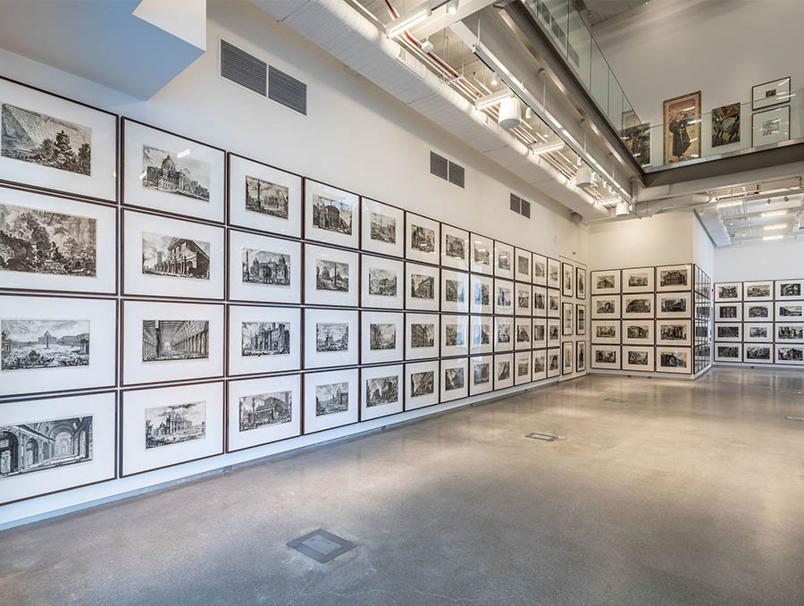 The Piranesi exhibition at The Lilley