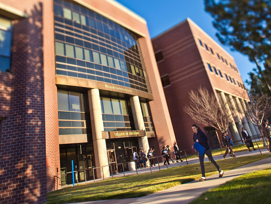 William Raggio Building at the university. Home for the College of Education.