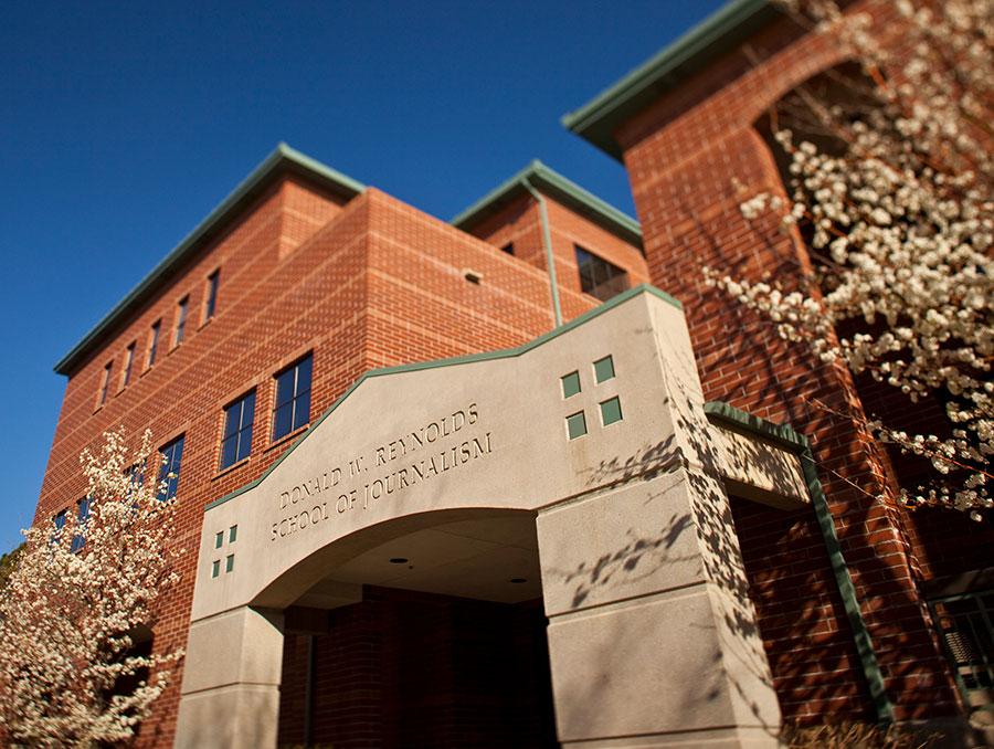Reynolds School of Journalism building front