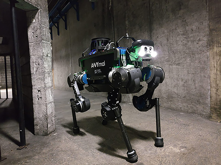 Anymal robot competes at DARPA Challenge