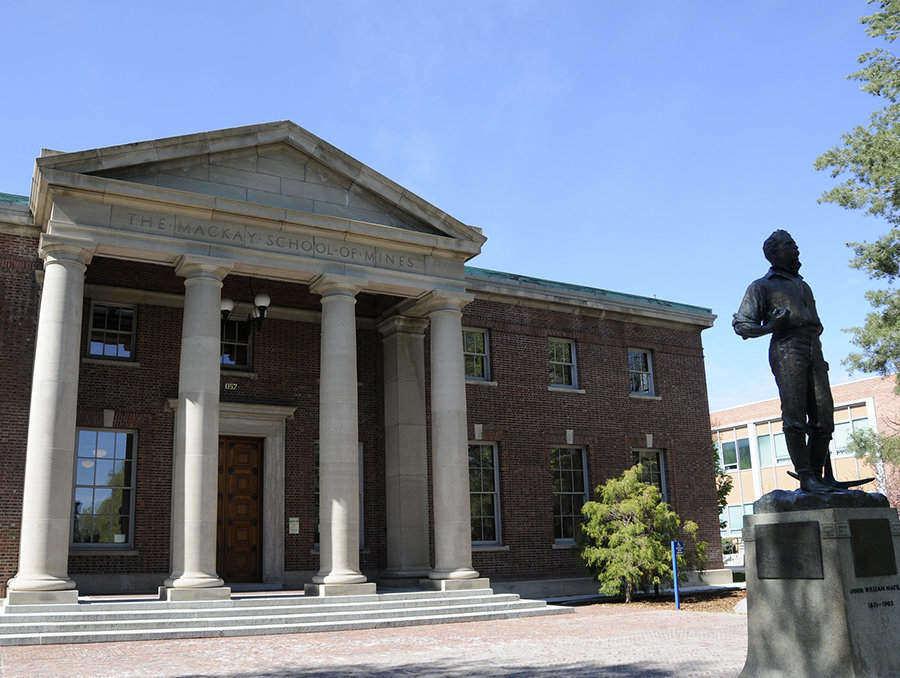 DeLaMare Library exterior