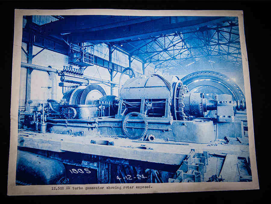 Nevada consolidated mining collection cyanotype photo