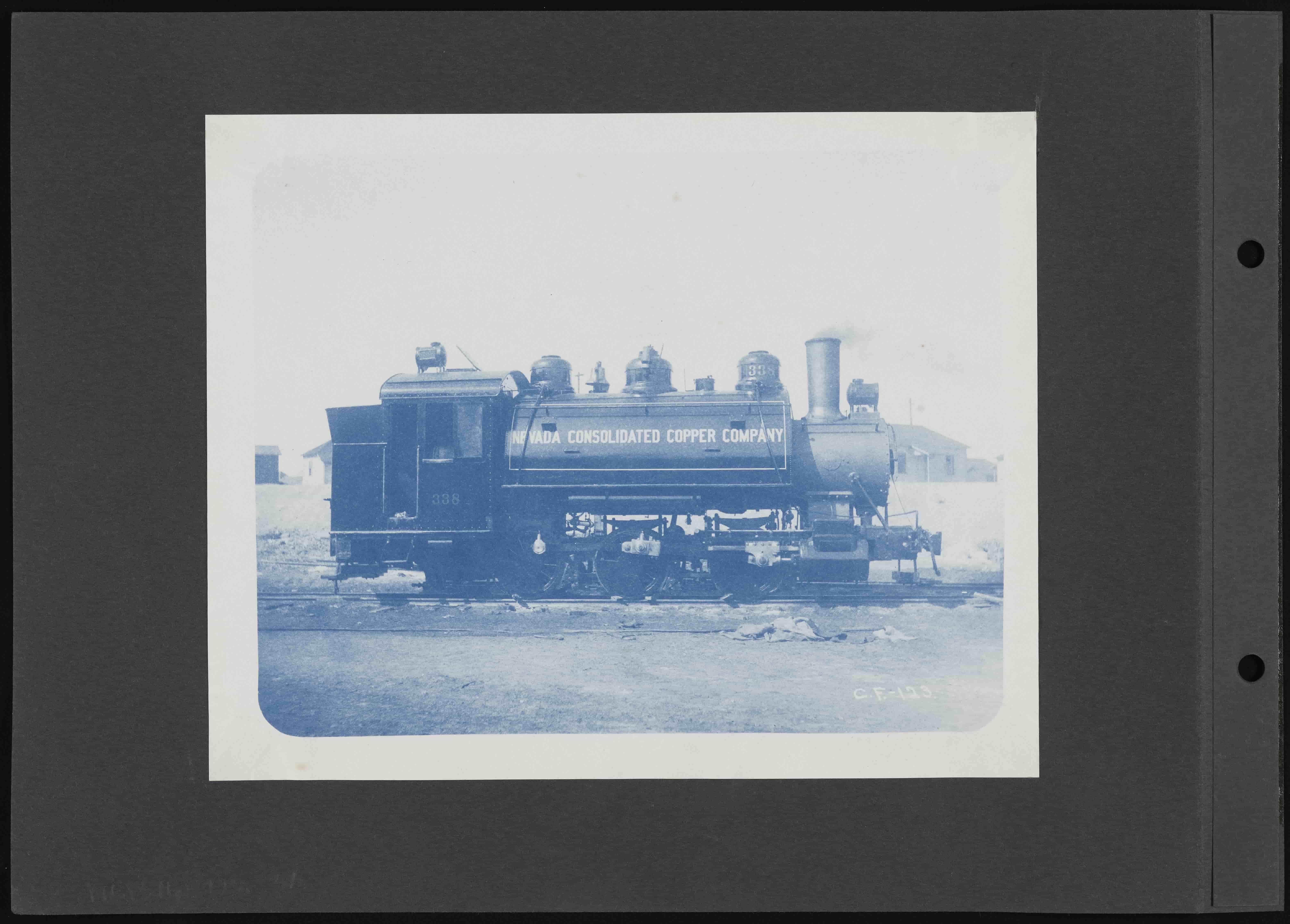 From the Nevada Consolidated Copper Company Collection: Nevada Consolidated Copper Train