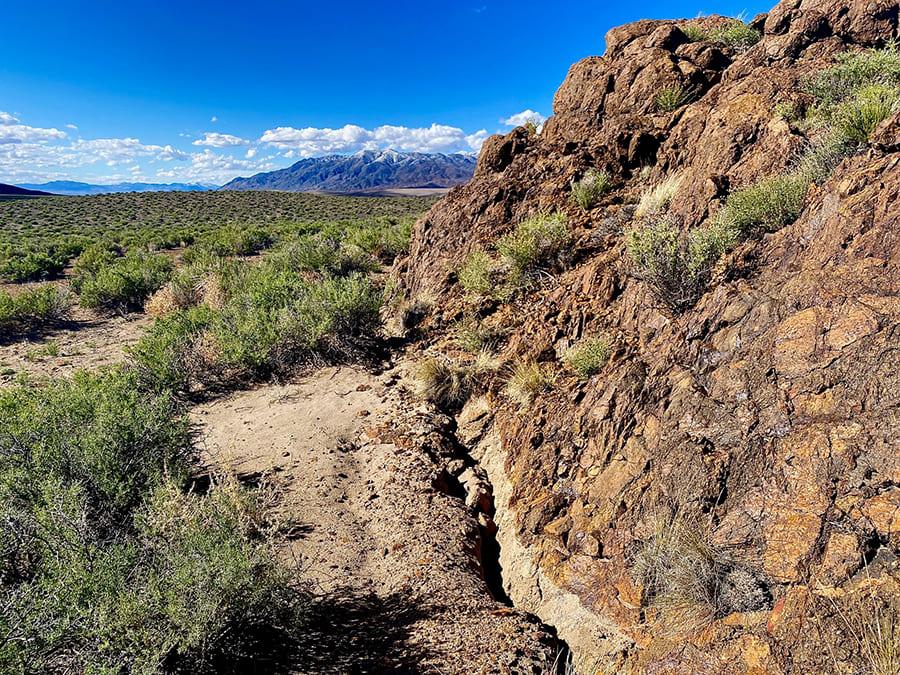 Monte Cristo faultline