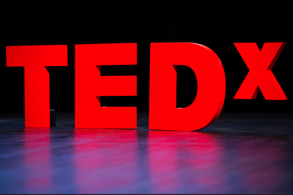 Red Ted X Sign