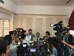 Wonders of Mekong project launch news conference