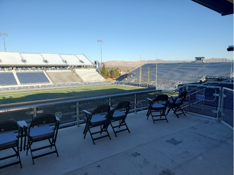 Large scale view of Mackay Stadium - October 2020