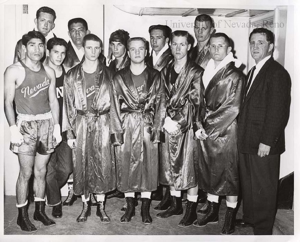Joe Bliss the 1960 Wolf Pack boxing team