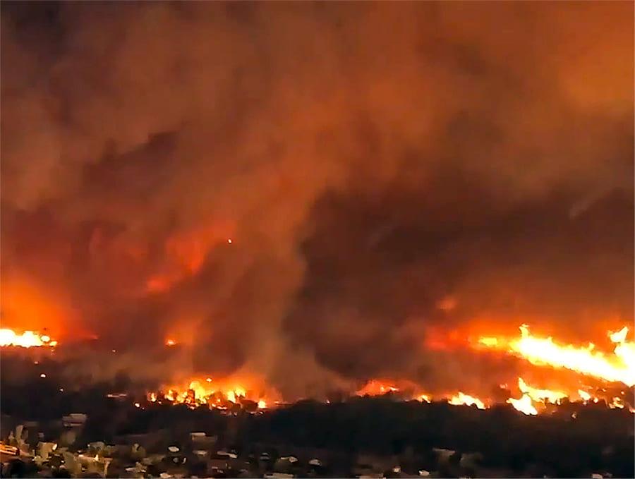 Carr Fire vortex