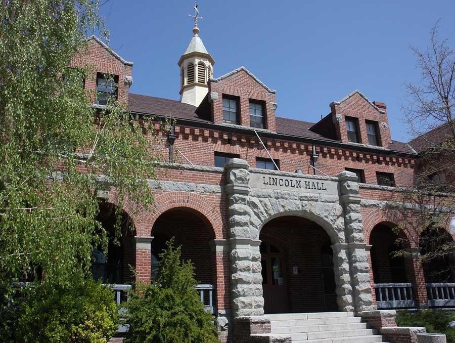 Lincoln Hall on the University of Nevada, Reno campus