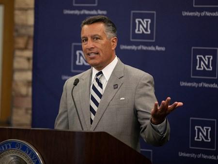 Brian Sandoval speaking