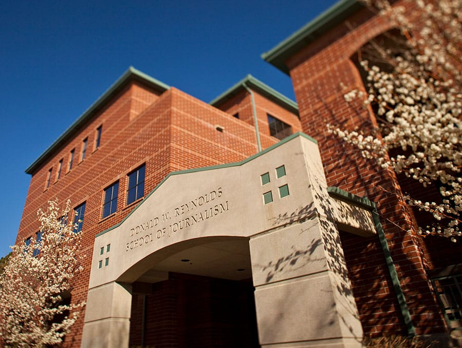 Reynolds School of Journalism building