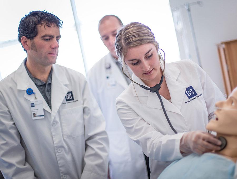 Orvis School of Nursing master programs enhance nurse's professional skills
