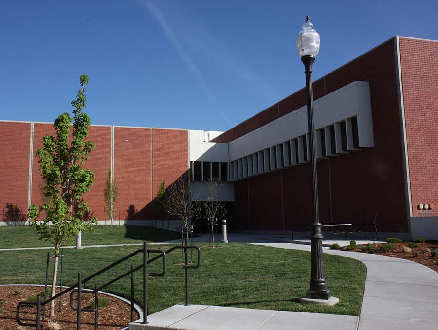 Lombardi Recreation Center houses the School of Public Health.