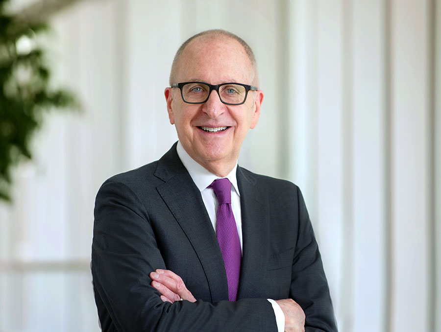 A headshot of UNR Med's Class of 2021 Doctor of Medicine Academic Hooding keynote speaker, David J. Skorton, M.D., president and CEO of the Association of American Medical Colleges.