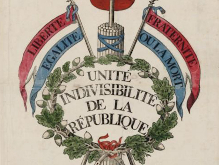 Unity as the motto of the French revolution