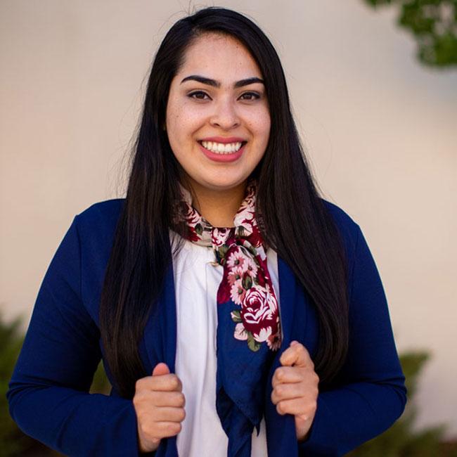 Portrait of Rosy Chavez-Najera