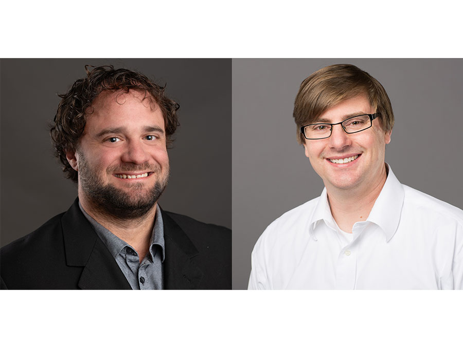 Photos of Dan Jones, Ph.D. and Mark Packard, Ph.D.