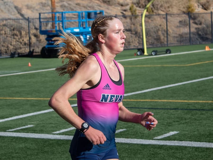 Tierney Wolfgram running