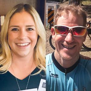 Allison Moore and Eric Lehman