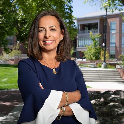 Shadi Martin on campus photo