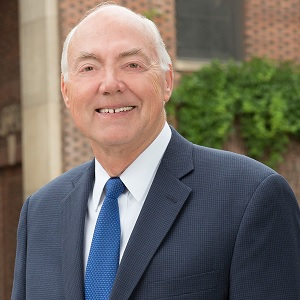 University President Marc Johnson