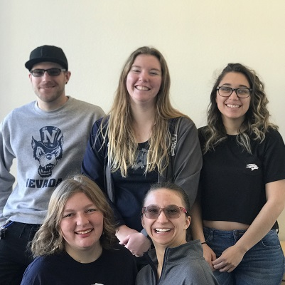 Top row, left to right: Craig Histed, Emily Fox, Azucena Alfaro; bottom row, left to right: Shannon Borba, Autumn Cuellar
