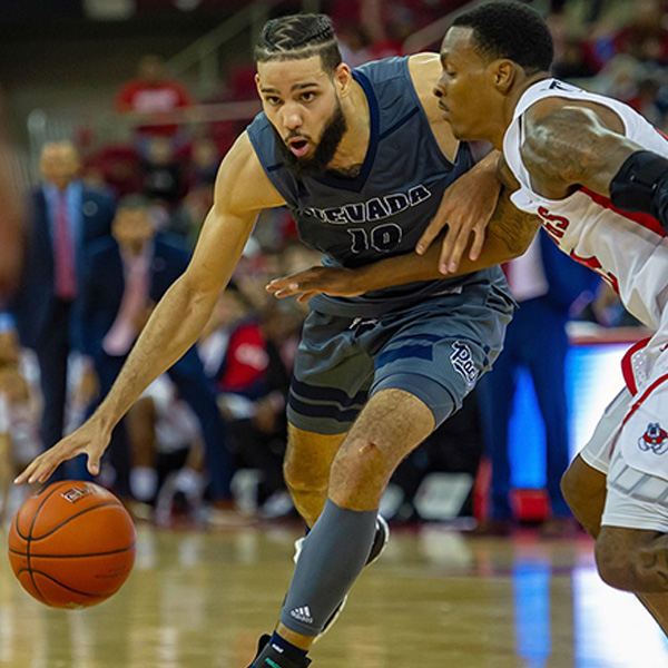 Caleb Martin playing against Fresno State