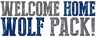 Welcome home wolf pack!